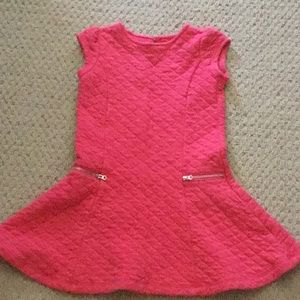 Gymboree coral dress